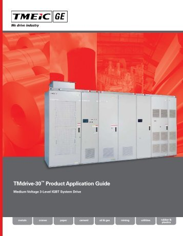 TMdrive-30™ Product Application Guide - Tmeic.com