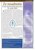 ročník VIII., máj 2006 - Slovenská lekárnická komora - Page 7
