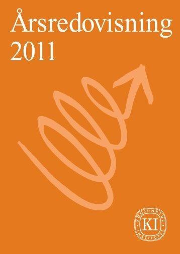 Årsredovisning 2011 - Konjunkturinstitutet