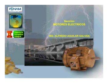 Sección MOTORES ELECTRICOS - Fonam