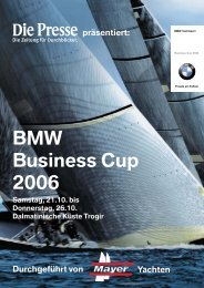 BMW Business Cup 2006
