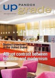 Abrupt contrast between tradition and modernism Abrupt ... - Pandox
