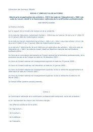 Décret n° 2002-617 du 26 avril 2002 relatif à la Commission ...