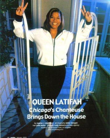Queen Latifah - Regina R. Robertson