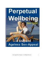 Perpetual Wellbeing - Goal Setting