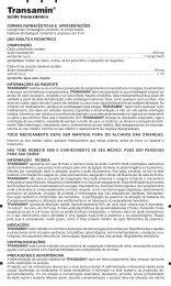 ácido tranexâmico - Onofre