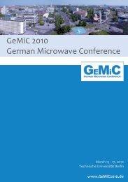 IMA eV - gemic 2010 - Ferdinand-Braun-Institut