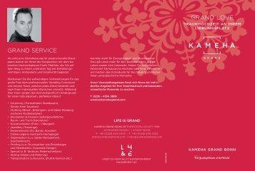 GRAND SERVICE GRAND LOVE - Kameha Grand Bonn