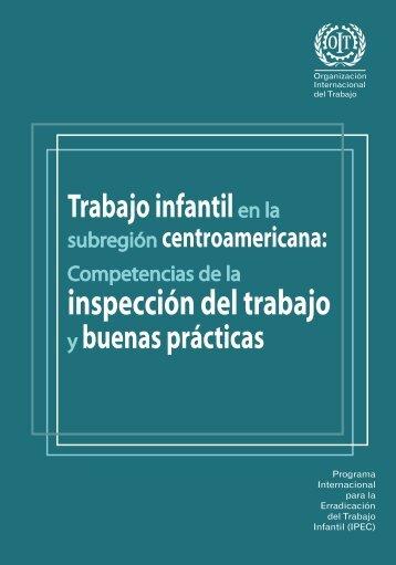 Competencias de la inspección del trabajo y buenas prácticas