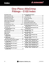 AlfaCrimp One-Piece Fittings - C122 - Kuriyama of America