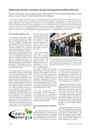 RegioEnergie beleuchtet Erneuerbare Energien und ...