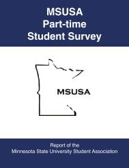 Part-Time Survey Report (PDF) - Minnesota Senate