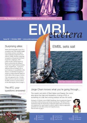 EMBL sets sail - EMBL Grenoble
