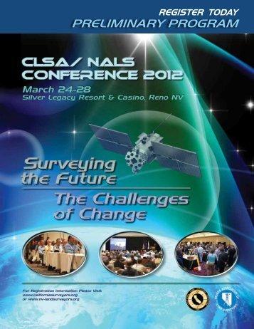 2012 - Preliminary Program - Sonomacounty-clsa.org