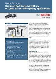 CRS2-OHW - Bosch Automotive Technology