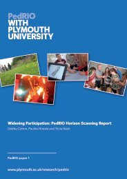 Widening Participation - Plymouth University