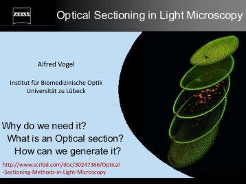 04 Optical Sectioning Microscopy Zeiss talk - Institut für ...