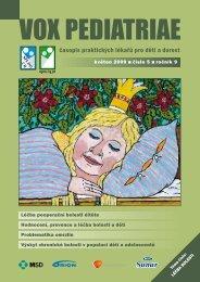 vox pediatriae 5/2009 - Dětský lékař