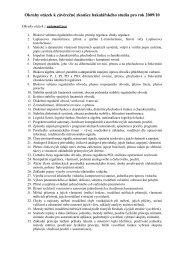 Otázky k závěrečné zkoušce bakalářského studia pro r