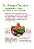 Chaque semaine, du champ à l'assiette – lieux et producteurs - Opaba - Page 2