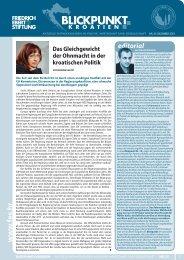 Blickpunkt Nr.20 / Dezember 2013 - Friedrich-Ebert-Stiftung Zagreb ...