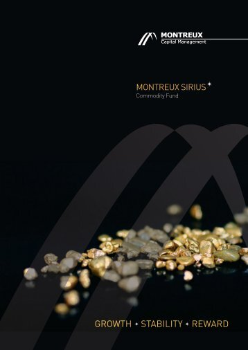 Commodity Fund Brochure - Montreux Capital Management