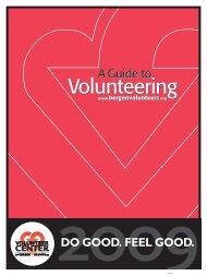 The Bergen County Guide to Volunteering - StPaulParishLife.org