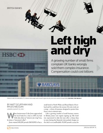 LEFt hiGh anD DrY - Thomson Reuters