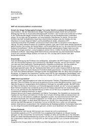 12. Februar 2008 KAP will als Autozulieferer vorankommen