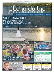Téléchargement PDF - L'Écho du Lac