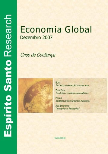 Economia Global - Banco Best