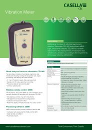 Download Technical specifications - Environmental Analytical Systems