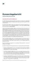 Konzernlagebericht - KAP Beteiligungs AG