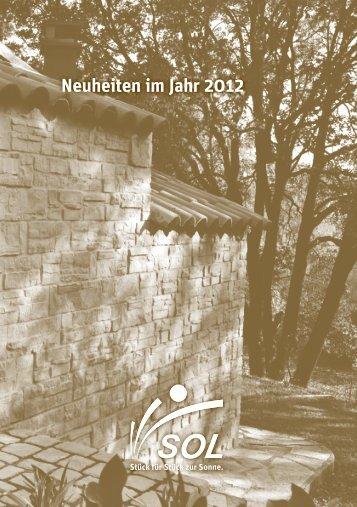 Neuheiten im Jahr 2012 - SOL AG
