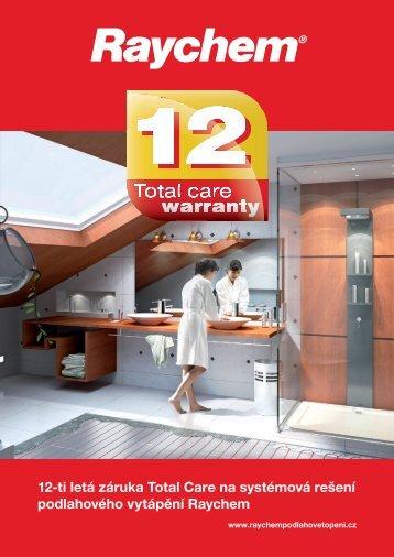 12-ti letá záruka Total Care na systémová rešení podlahového ...