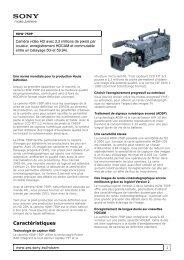 HDW-750P - Assistants Opérateurs Associés