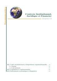 6. Contexte Institutionnel, juridique et financier - Département de l ...