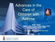 Advances in the Care of Children with Asthma