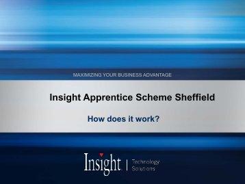Insight Apprentice Scheme Sheffield