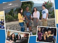 go anywhere - Student Affairs - California State University, San ...