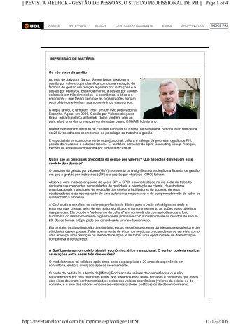 revista melhor - Spirit Consulting Group SL