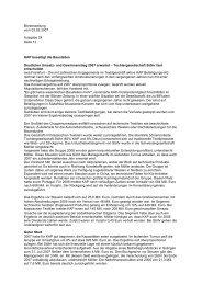 03. Februar 2007 KAP beseitigt die Baustellen - KAP Beteiligungs AG