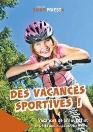 des vacances sportives ! - Saint-Priest