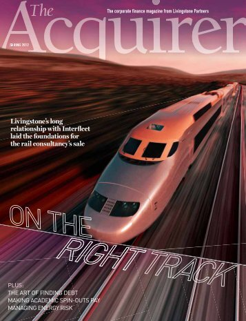 Acquirer Spring 2012 - Livingstone Partners