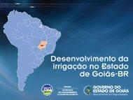 Irrigação em Goiás - Ana
