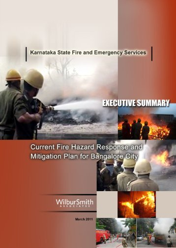 Current Fire Hazard Response and Mitigation Plan for Bangalore City