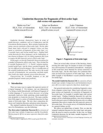 Lindström theorems for fragments of first-order logic