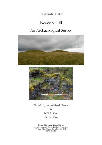 Beacon Hill, Radnorshire - Royal Commission on the Ancient and ...