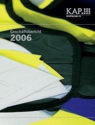 2006 - KAP Beteiligungs AG