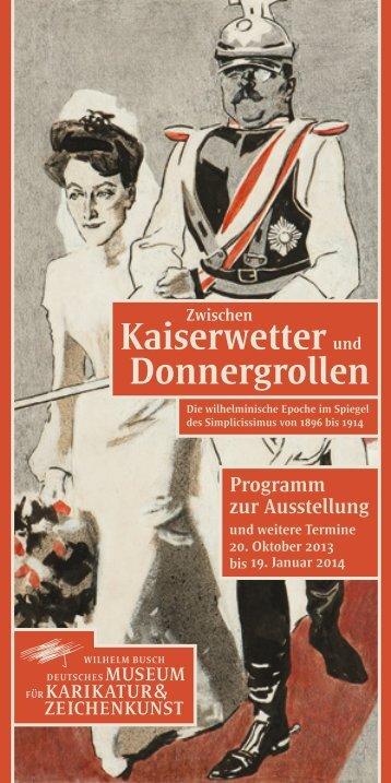 Zwischen Kaiserwetter und Donnergrollen - Wilhelm-Busch-Museum